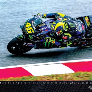Stenski koledar Valentino Rossi 2020
